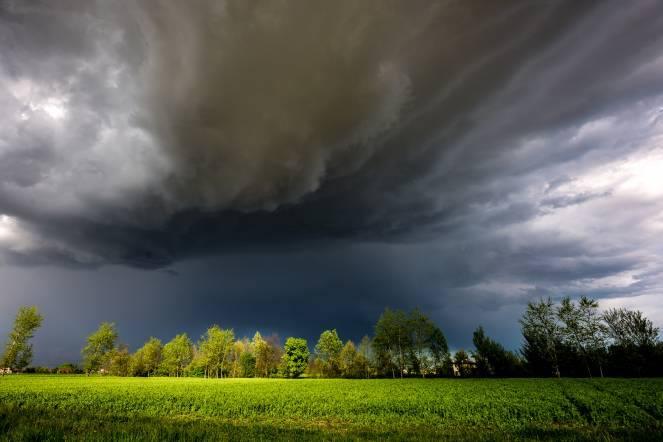 Favola. Il temporale